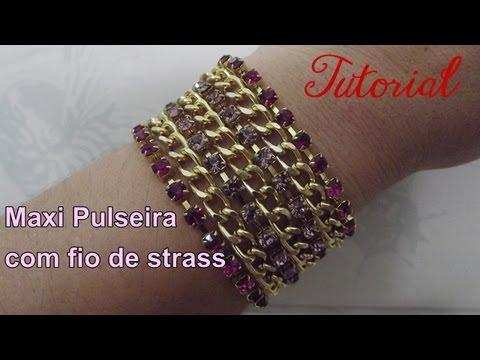 Maxi Pulseira Strass