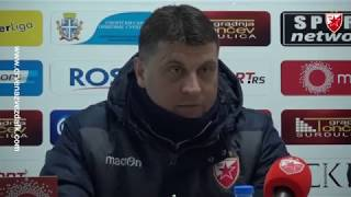 Milojević posle pobede nad Radnikom