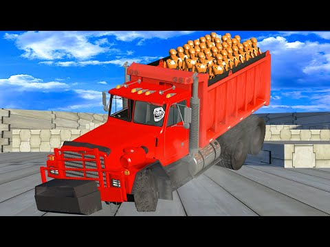 DRIVE to SURVIVE! #3 (Dummy Edition) BeamNG Drive