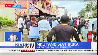 Wakaazi wa Mathare waliokuwa wakijadili wavamiwa na maafisa wa usalama