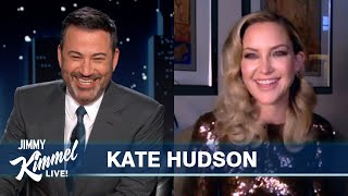Kate Hudson on Coping in Quarantine, Golden Globe Nomination & Reaction to New Movie Music