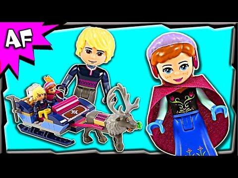 Vidéo LEGO Disney 41066 : Le traîneau d'Anna et Kristoff