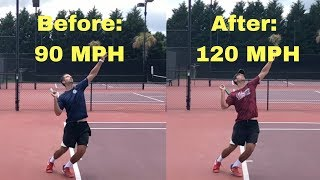 This is KILLING your SERVE SPEED! Avoid this common serve mistake.