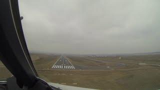 preview picture of video 'Flughafen Kassel-Calden: Der erste Flug im Airbus aus Frankfurt im Zeitraffer [HD]'