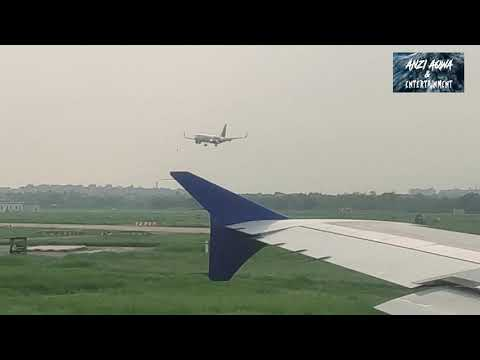 flight takeoff from New Delhi [IGI] Airport terminal 2 (T2) | flying at high in the sky