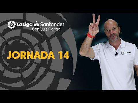 LaLiga con Luis García: Jornada 14