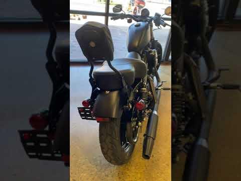 Black Denim 2019 Harley-Davidson 883 Iron XL883N