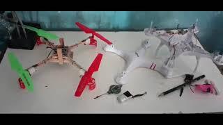 Upgrade drone HJ14W serasa pakai DJI Phantom 4