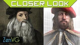 Assassin's Creed vs Leonardo Da Vinci (Closer Look)
