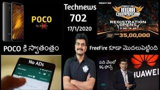 Technews 702 POCO independent brand,Samsung S20 Series Cameras,FreeFire Tournament,