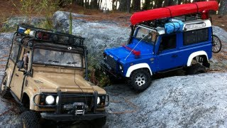 RC 4x4 Twin Land Rover Defender 90's Tackle Stone Mountain GA.