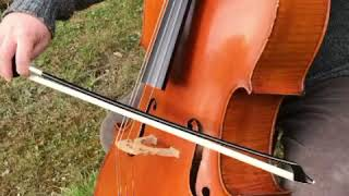 Wada Cello Bow Grip Aid