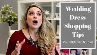 Wedding Dress Shopping Tips You NEED to Know!
