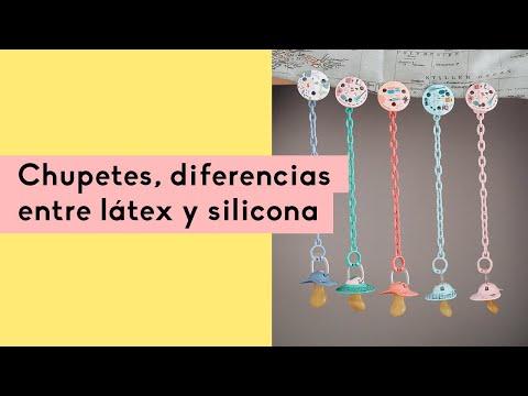 Videopost: chupetes, diferencias entre látex y silicona