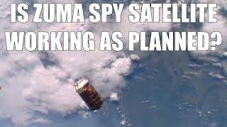 Is Zuma Spy Sat Operational?