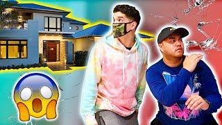 BROKE INTO MY GFs NEW HOUSE! **im sorry**