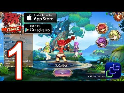 Elsword: Evolution Android iOS Walkthrough - Gameplay Part 1 - Chapter 1: Maqui Village