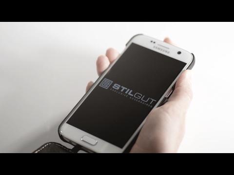 Samsung Galaxy S7 Hülle UltraSlim aus Leder von StilGut