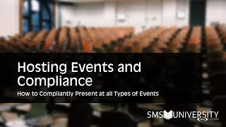 Hosting Events and Compliance