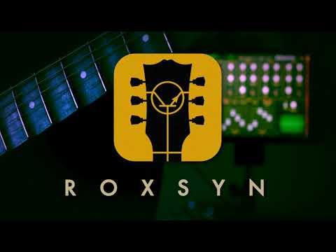 ה-Roxsyn - סינתי גיטרה ל-iOS ללא שימוש ב-MIDI