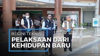 Begini Teknis Tatanan Kehidupan Baru, Ridwan Kamil: Mal dan Toko-toko Diperbolehkan Buka