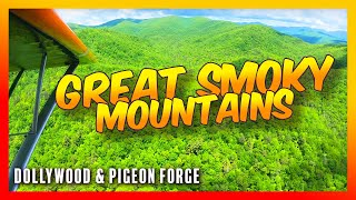 Travel Vlog 14 Flying The Great Smoky Mountains!