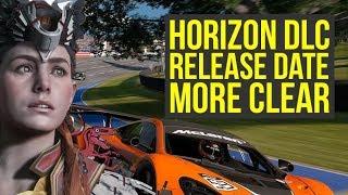 Horizon Zero Dawn DLC Release date MORE CLEAR Because of GRAN TURISMO SPORT (Horizon Frozen Wilds)