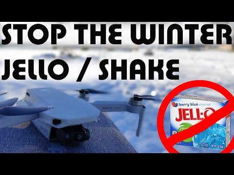 How to fix the DJI Mavic Mini winter & cold weather jello / shake