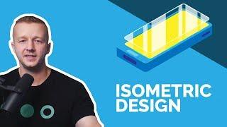 Create An Isometric Illustration For Web Design In Illustrator CC