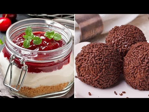 Quick And Easy Dessert Ideas | 10 Awesome DIY Homemade Recipe Ideas For A Weekend Party!