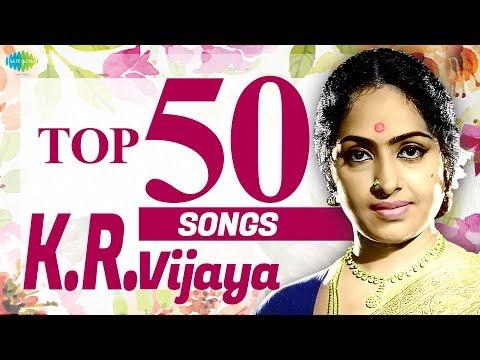 Top 50 Songs of K.R.Vijaya   One Stop Jukebox   K.R.விஜயா பாடல்கள்   Kannadasan   Vaali   HD Songs
