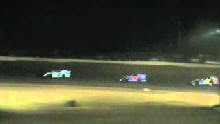 preview picture of video 'Jackson County Speedway (OH) AMRA Modified Feature Highlights 4-6-2012'