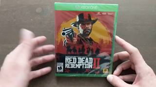 Red Dead Redemption II Unboxing
