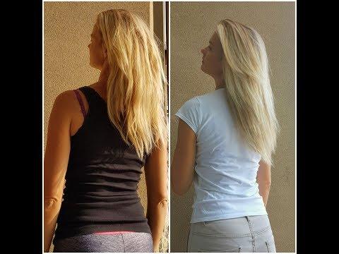 Jak olej może smarować końcówki po umyciu włosy