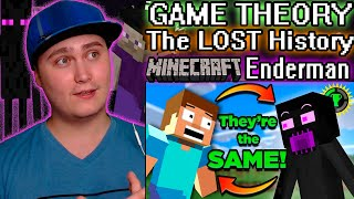 Game Theory: The LOST History of Minecraft's Enderman | Reaction | FriendlyMan Confirmed