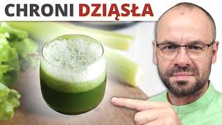 Ten sok chroni przez chorobami dziąseł i rozchwianiem zębów