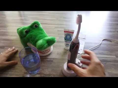 Wie putzt man richtig Zähne mit Ultraschall