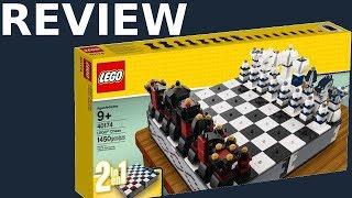Schach oder Schachmatt? Lego Iconic Schachspiel 2017 Review (40174) [Deutsch|HD]