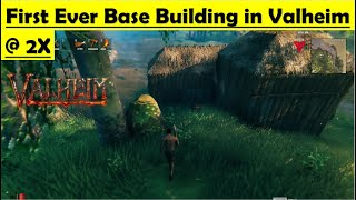 Valheim - My First Ever Base Building