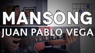 Mansong Juan Pablo Vega Tutorial Cover - Guitarra [Mauro Martinez]