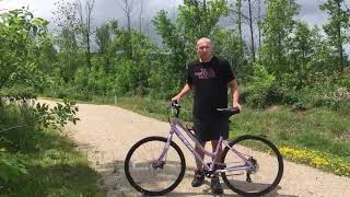 CCM Capri Womens Hybrid Bike, 700C - Coreys Testimonial
