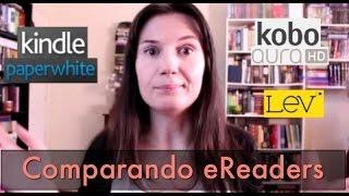 ComparandoeReaders:Kindle+Kobo+LeV