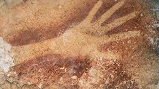 Cave Art In The Tropics