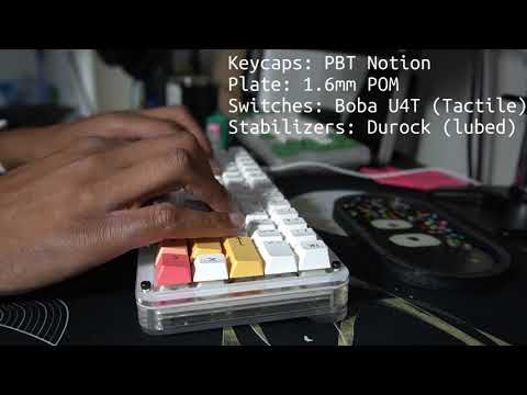 [GB] Flygone60 Stacked Acrylic 60% Keyboard