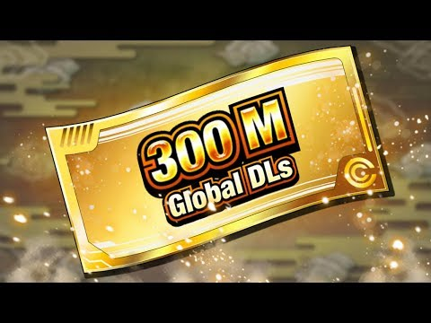 When You Should Expect Your 300 Million Download Tickets! Dragon Ball Z Dokkan Battle