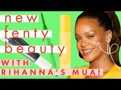 New FENTY BEAUTY Brow MVP Tutorial with Rihanna's Makeup Artist! | Try On | Cosmopolitan