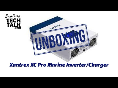 Xantrex XC Pro Marine Inverter/Charger - UnBoxing and Product Review