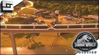 Jurassic World Evolution! Monorail Accident! Sabotage?