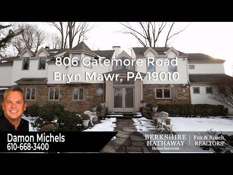 806 Gatemore Road, Bryn Mawr, PA 19010