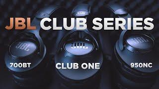 JBL CLUB Kopfhörer | Alle Modelle im Vergleich | CLUB ONE | CLUB 950BT | CLUB 700BT | deutsch